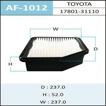 Воздушный фильтр A-1012 HEPAFIX. (AF-1012)