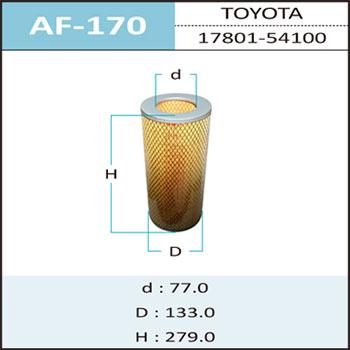Воздушный фильтр A-170 HEPAFIX. (AF-170)
