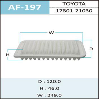 Воздушный фильтр A-197 HEPAFIX. (AF-197)
