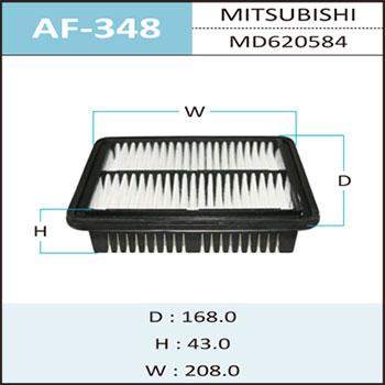 Воздушный фильтр A-348 HEPAFIX. (AF-348)