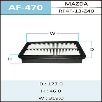 Воздушный фильтр A-470 HEPAFIX. (AF-470)