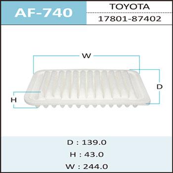 Воздушный фильтр A-740 HEPAFIX. (AF-740)