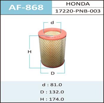 Воздушный фильтр A-868 HEPAFIX. (AF-868)