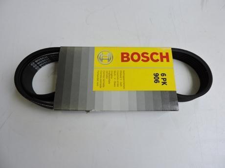 Ремень ручейковый BOSCH 6PK-906. (1987946027)