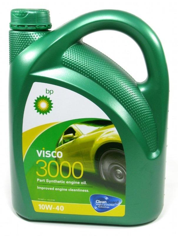 Visco 3000 10W-40 A3/B4 4 л VW 505.00 масло моторное. BP (157F36)