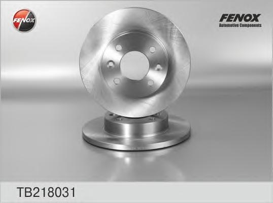 Диск тормозной TB218031. FENOX
