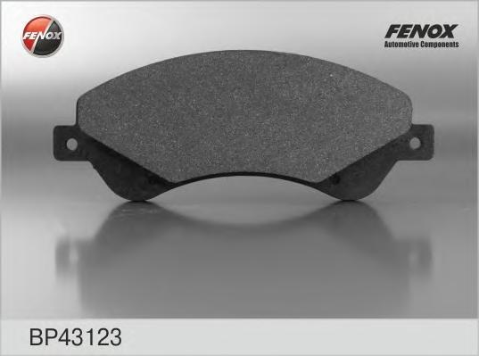 Колодки дисковые передние BP43123. FENOX
