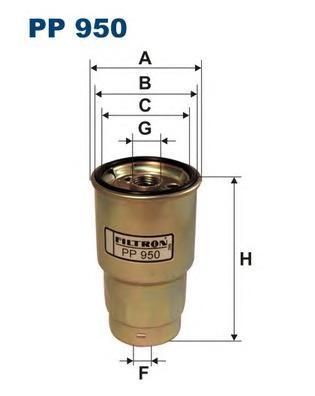 Фильтр топливный PP950. Filtron