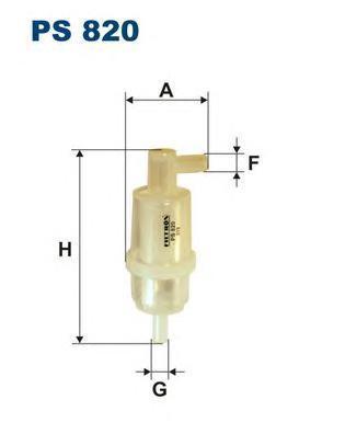 Фильтр топливный PS820. Filtron
