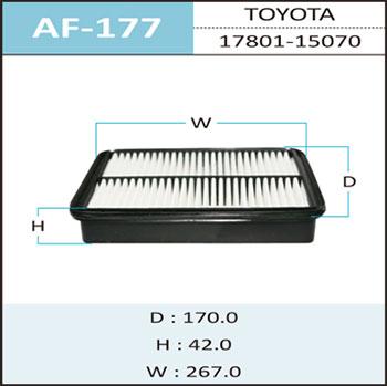 Воздушный фильтр A-177 HEPAFIX. (AF-177)