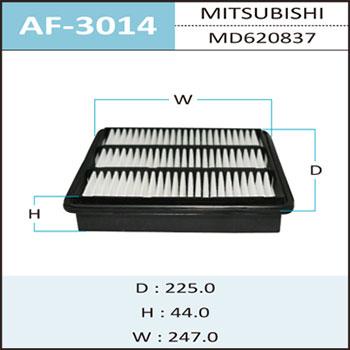 Воздушный фильтр A-3014 HEPAFIX. (AF-3014)