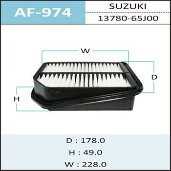 Воздушный фильтр A-974 HEPAFIX. (AF-974)