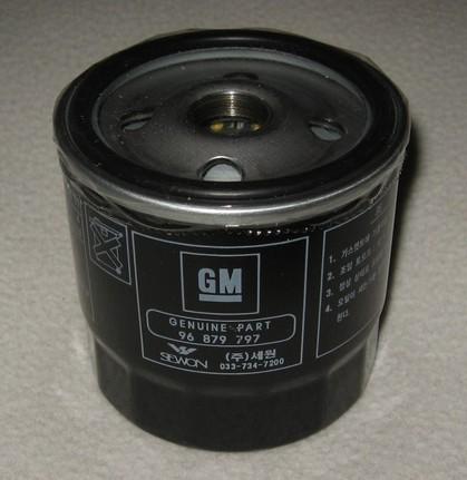 Фильтр масляный OPEL/GM/DAEWOO 96879797. GENERAL MOTORS