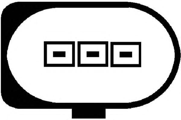 Датчик 6PR008079-041. Hella