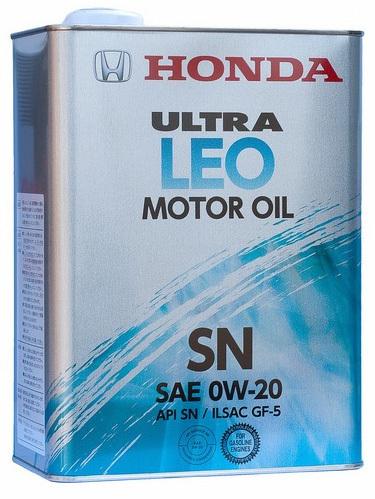Масло моторное Honda Ultra LEO SN 0W20 (4л) 08217-99974