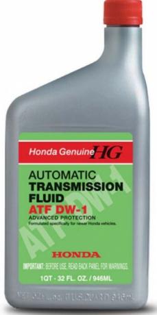 Масло трансм. Honda ATF DW-1 NEW (0,946л) 08200-9008