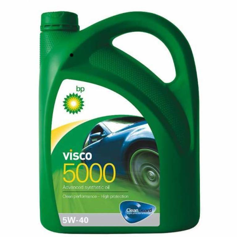 Масло мот Visco 5000 5w40 4л (4027720090 ). BP (15806C)