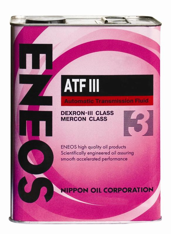 Масло трансм ENEOS ATF Dexron III (4л). (OIL1309)