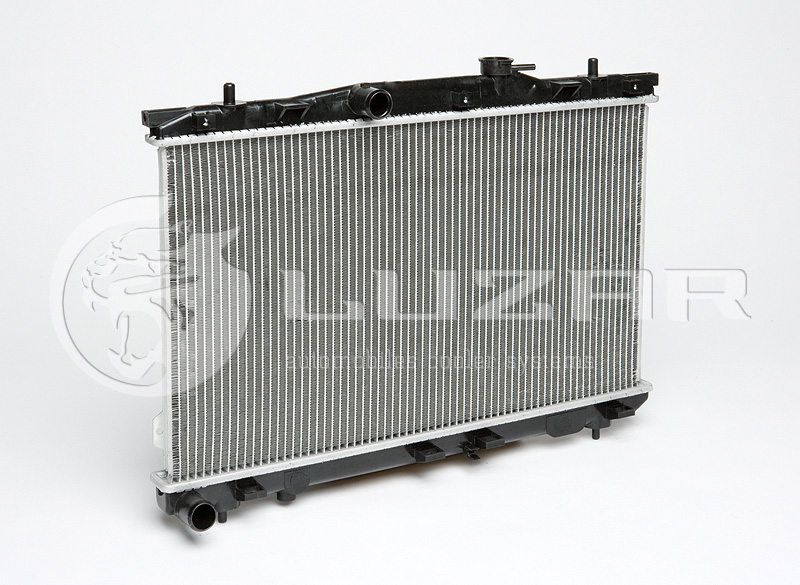 Радиатор двигателя Hyundai Elantra (00-) 2.0 LRcHUEl00150. Luzar
