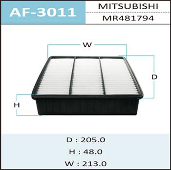 Воздушный фильтр A-3011 HEPAFIX. (AF-3011)