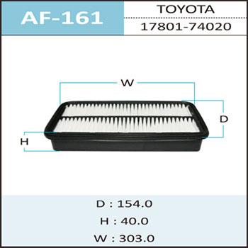 Воздушный фильтр A-161 HEPAFIX. (AF-161)
