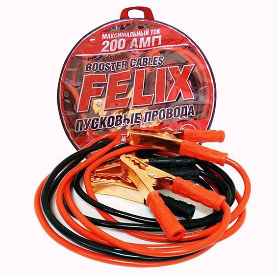 ТС Пусковые провода FELIX 200А г.Дзержинск. (4606532009151)