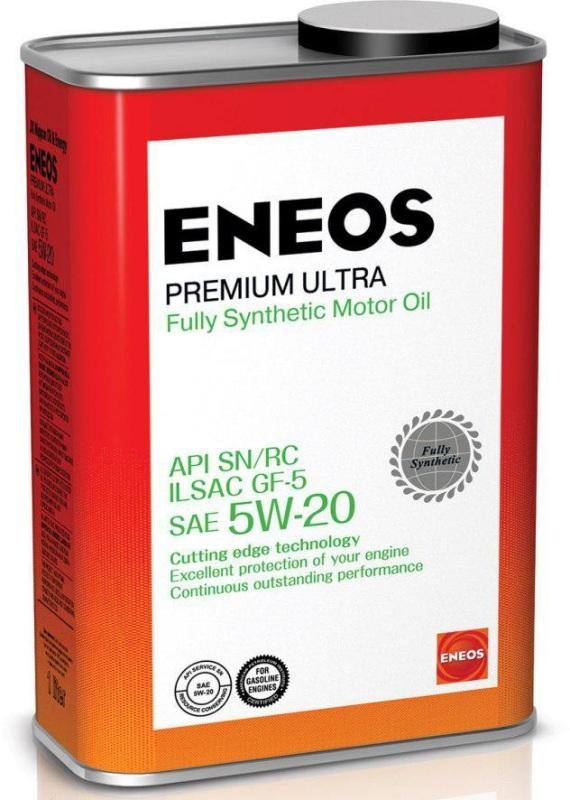 ENEOS Premium Ultra 100% Synt. SN 5W20 0.94л. ENEOS (8801252022190)