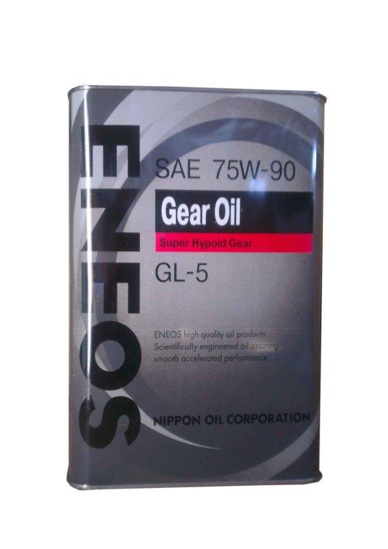 ENEOS GEAR GL-5 75W90 4л. ENEOS (8801252021407)
