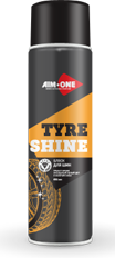 Блеск для шин( без пены)AIM-ONE 450 мл (аэрозоль).Tyre shine (without foam) 450ML TS-450