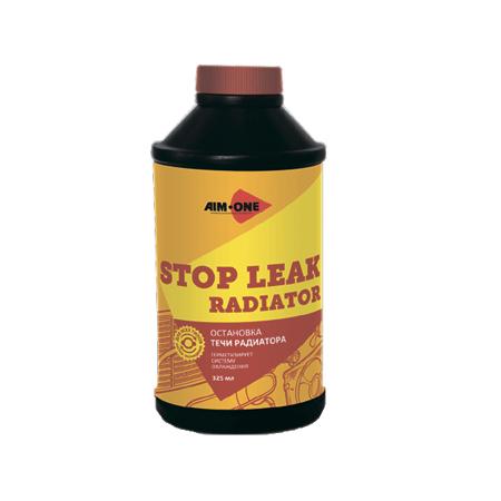 Стоп-течь радиатор AIM-ONE 325 мл (жидкость).Stop leak radiator 325ML SL-340