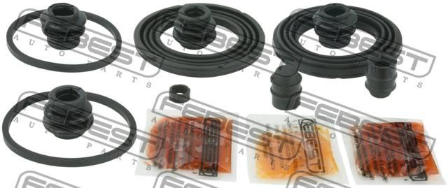 Ремкомплект суппорта тормозного переднего. Febest (0575-GJF)