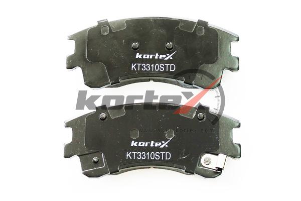 Колодки тормозные перед.к-т. KORTEX (KT3310STD)