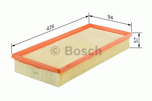 ВСТАВКА ВОЗДУШН. ФИЛЬТРА. Bosch (1457433337)