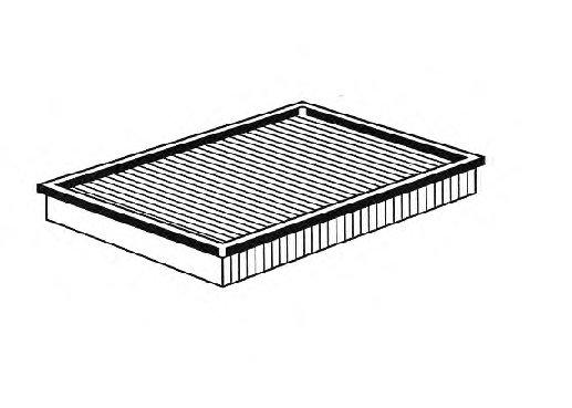 ВСТАВКА ВОЗДУШНОГО ФИЛЬТР (Mann C 2998/5 X). Bosch (1457433059)