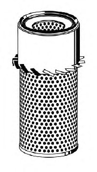 ВСТАВКА ВОЗДУШНОГО ФИЛЬТР (Vic A-3015S). Bosch (1987429169)