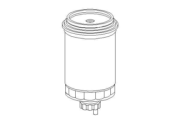 СМЕННЫЙ ТОПЛИВНЫЙ ФИЛЬТР (Mann WK 850/2). Bosch (1457434400)