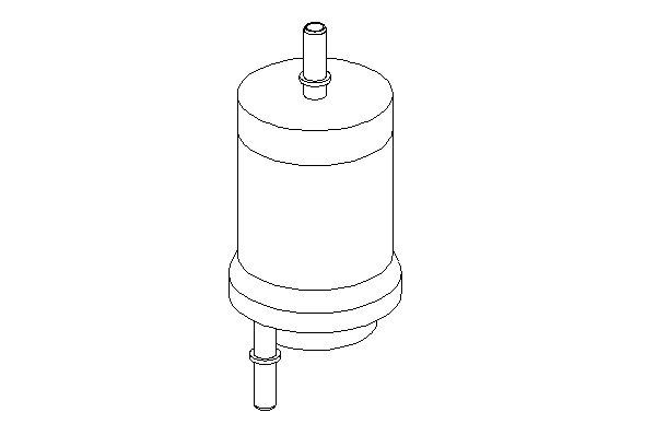 ТОПЛИВНЫЙ ФИЛЬТР (Mann WK 59 X). Bosch (0450905925)
