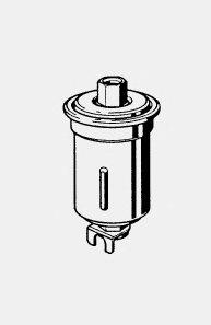 ТОПЛИВНЫЙ ФИЛЬТР (Mann WK 614/24 X) F0107. Bosch (0986450107)