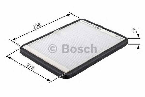 ФИЛЬТР САЛОНА (Vic AC-931E). Bosch (1987432156)