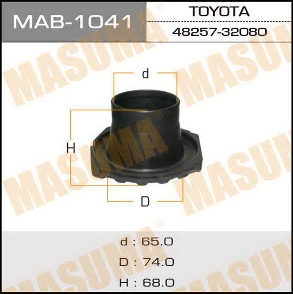 Пыльник стоек  Masuma  TOY Allion, Caldina, Celica, Premio, Vista, Vista Ardeo. (MAB-1041)