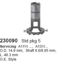 Кольцо контактное ротора генератора. CARGO (230090)