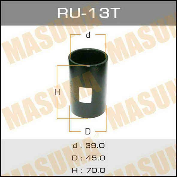 Оправка для выпрессовки/запрессовки сайлентблоков 45x39x70. Masuma (RU-13T)