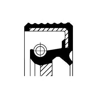 Сальник коленвала. Corteco (20033890B)