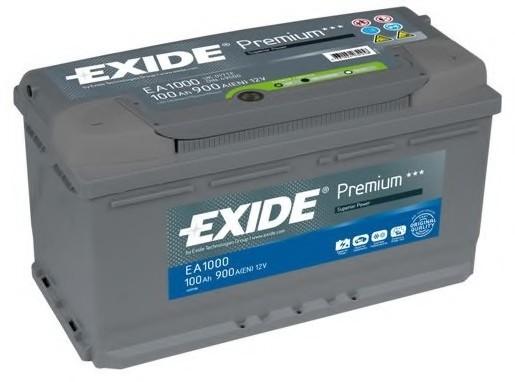 Аккумуляторная батарея. EXIDE (EA1000)