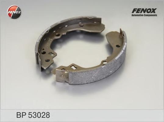 Колодки тормозные барабанные. FENOX (BP53028)