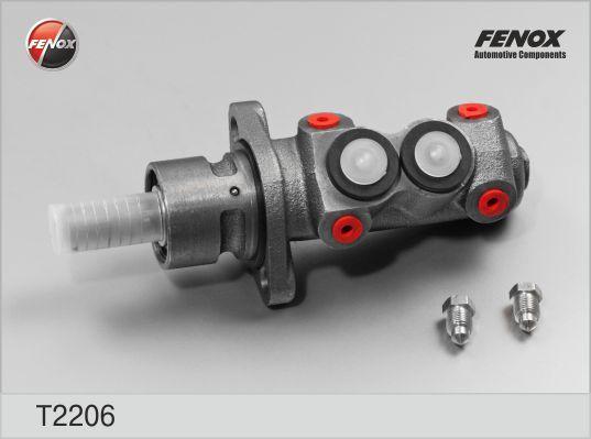Цилиндр тормозной главный. FENOX (T2206)