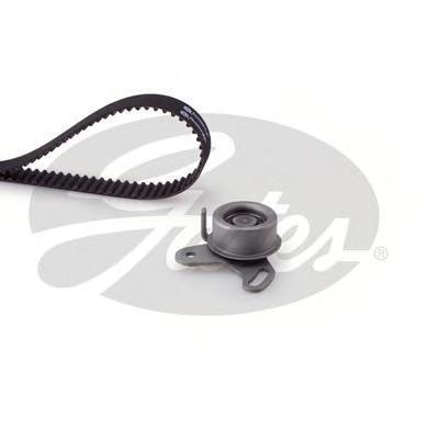 Ремень ГРМ зубчатый с роликами, комплект. Gates (K015568XS)