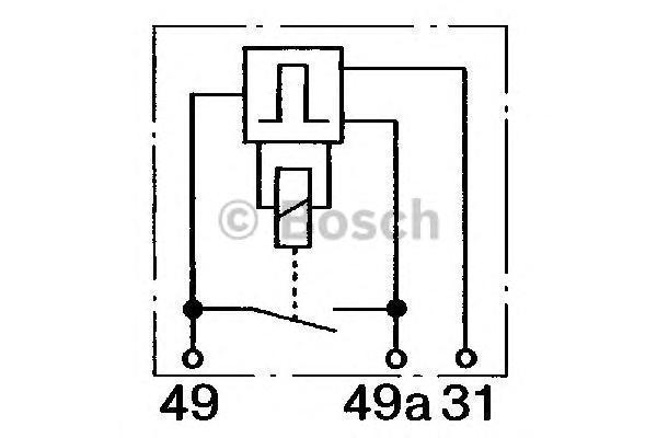 ГЕНЕРАТОР ИМПУЛЬСОВ 24В. Bosch (0335323003)
