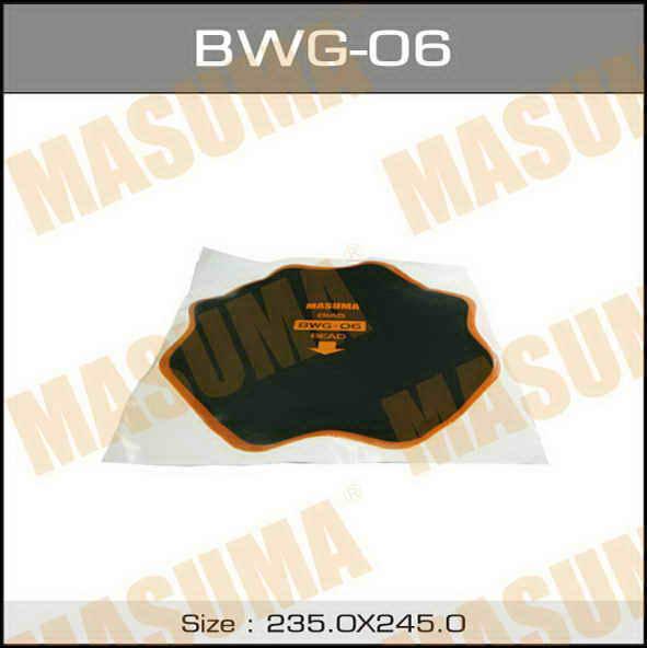 Заплатки  Masuma  боковых порезов D255mm. (BWG-06)