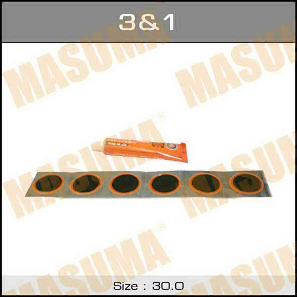 Заплатки  Masuma  для холодной вулканизации. (3&-10211)